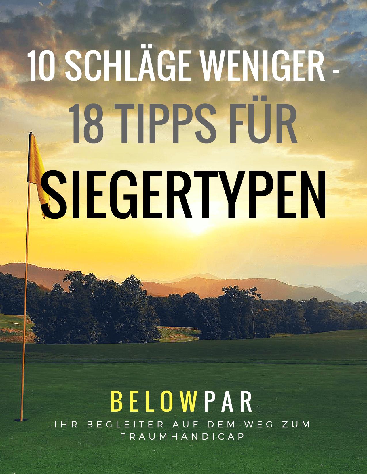 10 Schläge weniger Golfbuch BelowPar