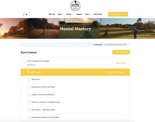Mental Mastery