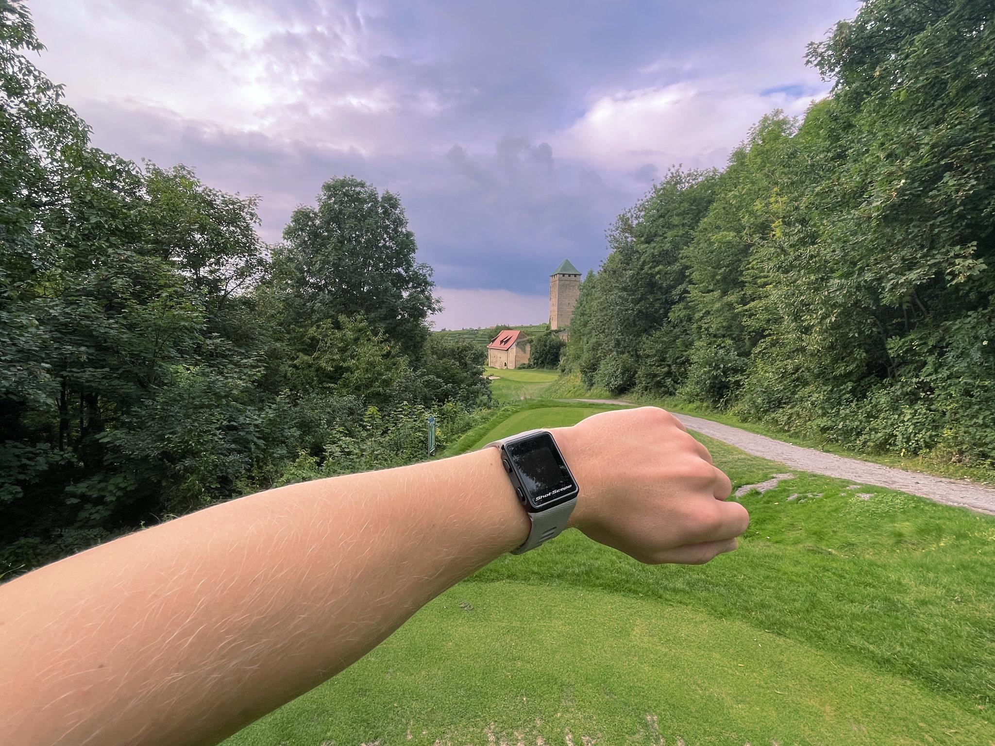 Golf Entfernungsmesser Uhr